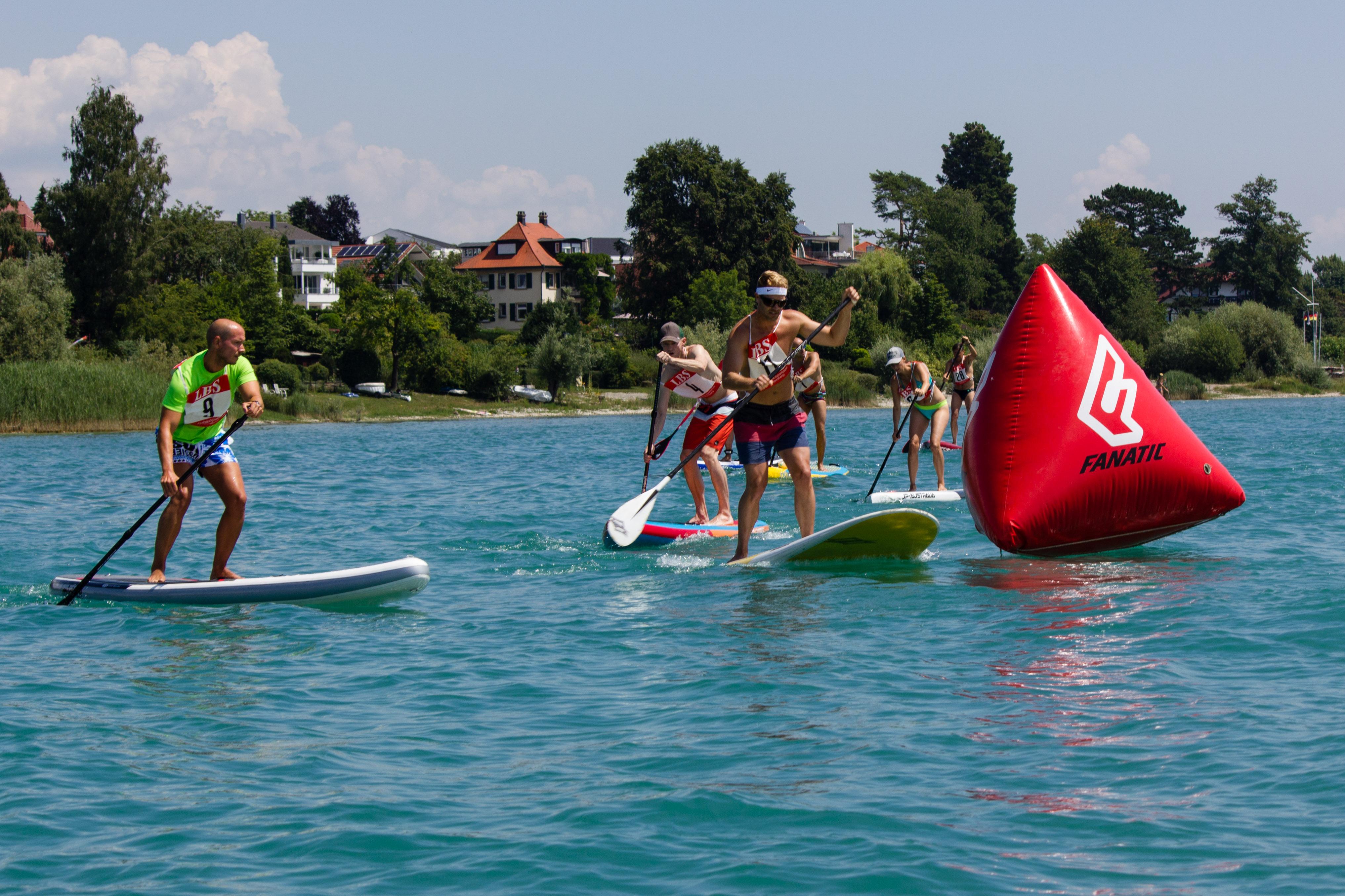 4. Bodensee SUP Cup begeistert Paddler und Publikum