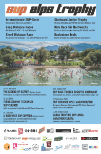 SUP Alps Trophy Flyer 2020